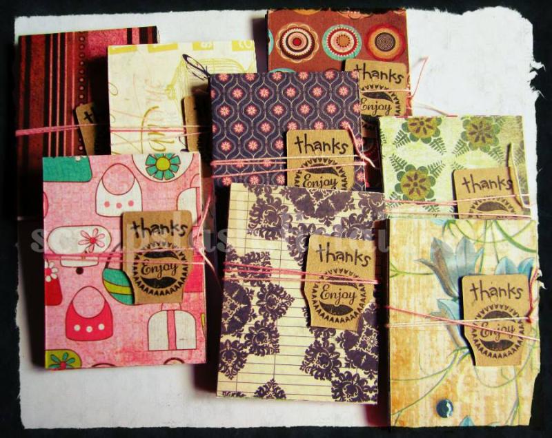3x4 scrapbook papers